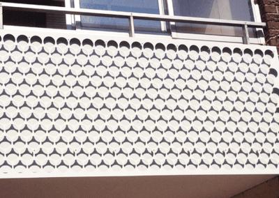 Renovering balkonger Lindängen